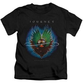 Journey Evolution Short Sleeve Juvenile Black T-Shirt