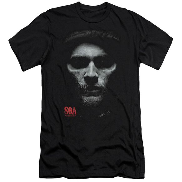Sons Of Anarchy Skull Face Premuim Canvas Adult Slim Fit