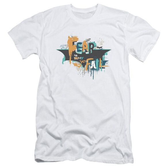 Dark Knight Rises No Fear Short Sleeve Adult T-Shirt