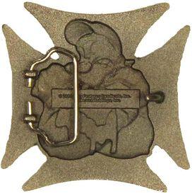 Popeye Cross Belt Buckle