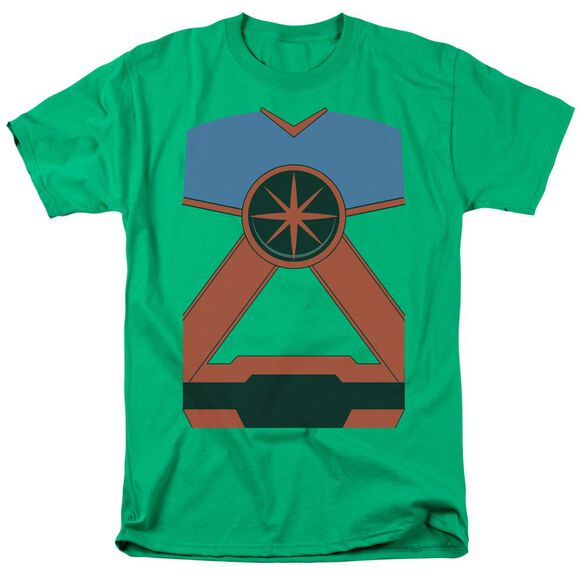 Jla Martian Mh Short Sleeve Adult Kelly T-Shirt