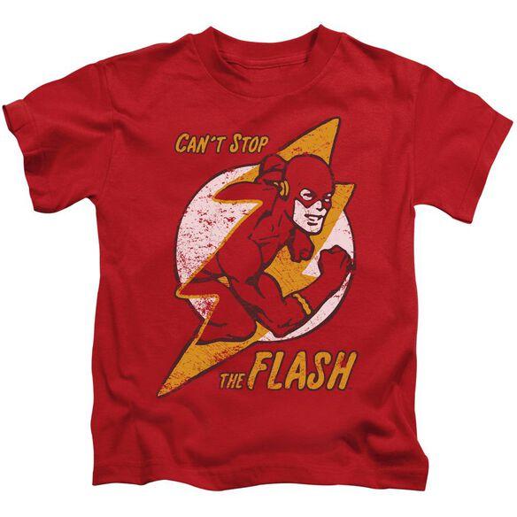 Dc Flash Flash Bolt Short Sleeve Juvenile T-Shirt