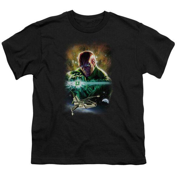 Jla(Gl) Abin Sur Short Sleeve Youth T-Shirt