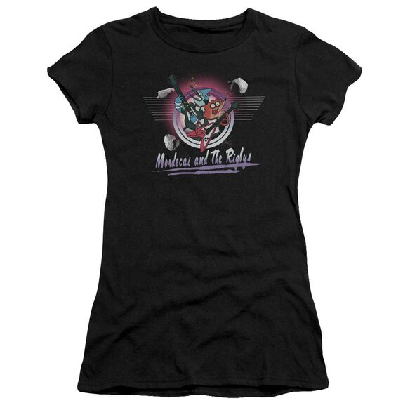 The Regular Show Mordecai & The Rigbys Hbo Short Sleeve Junior Sheer T-Shirt