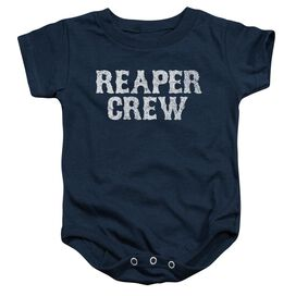 Sons Of Anarchy Reaper Crew Infant Snapsuit Navy