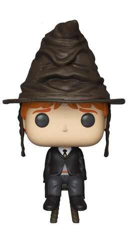 Funko Pop! Harry Potter: Ron Weasley With Sorting Hat