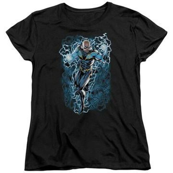 Black Lightning Ladies T-Shirt