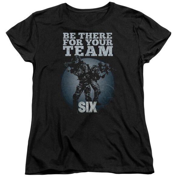Six Team Short Sleeve Womens Tee T-Shirt