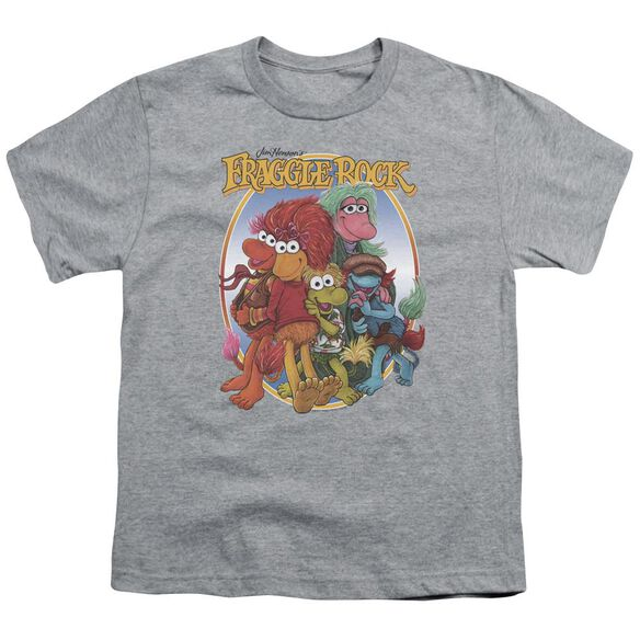 Fraggle Rock Group Hug Short Sleeve Youth Athletic T-Shirt