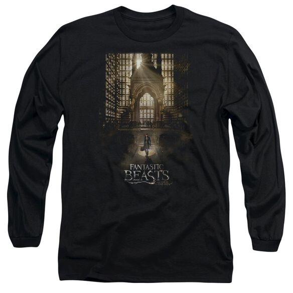 Fantastic Beasts Poster Long Sleeve Adult T-Shirt