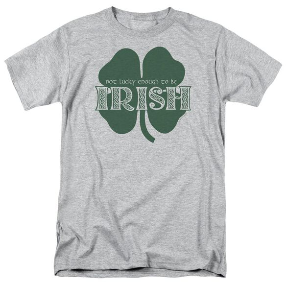 Lucky To Be Irish Short Sleeve Adult Athletic T-Shirt