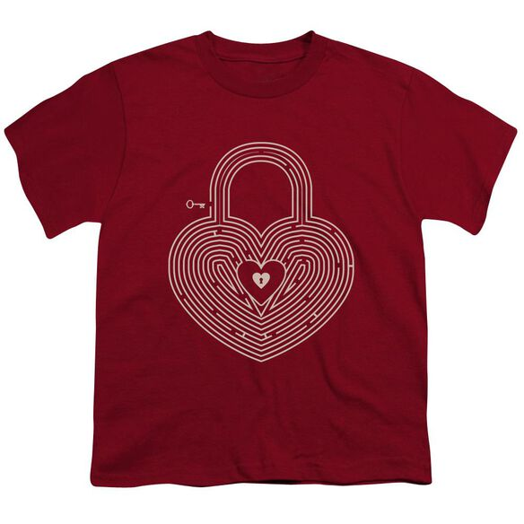 Key To My Heart Short Sleeve Youth T-Shirt