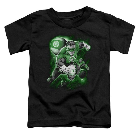 Green Lantern Lantern Planet Short Sleeve Toddler Tee Black Sm T-Shirt