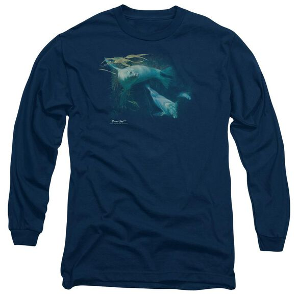 Wildlife Kelp Patrol Long Sleeve Adult T-Shirt