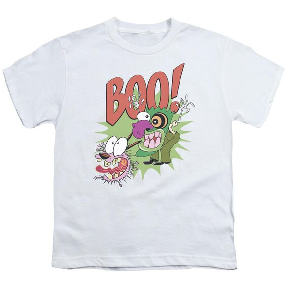 Courage The Cowardly Dog Stupid Dog Short Sleeve Youth T-Shirt