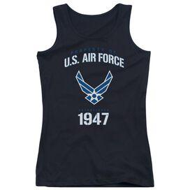 Air Force Property Of - Juniors Tank Top - Black