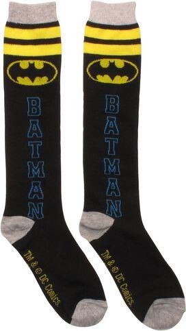 Batman Vertical Name Ladies Knee High Socks