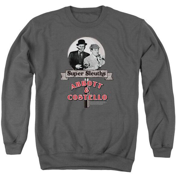 Abbott & Costello Super Sleuths Adult Crewneck Sweatshirt