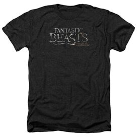 Fantastic Beasts Logo Adult Heather
