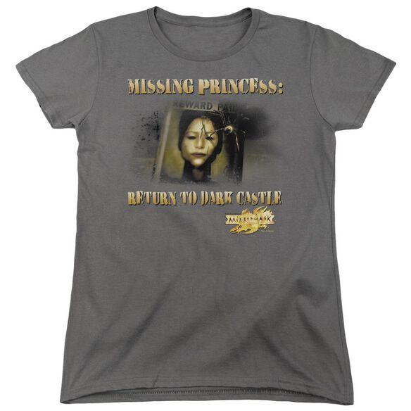 Mirrormask Missing Princess Short Sleeve Women's Tee T-Shirt