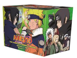 Naruto Complete Series & Movies [Exclusive DVD]