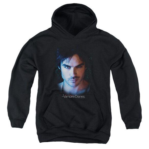 Vampire Diaries Damon Youth Pull Over Hoodie
