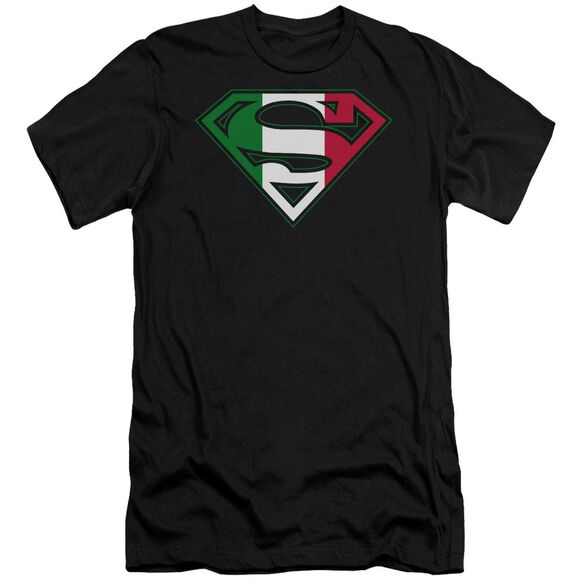 Superman Italian Shield Short Sleeve Adult T-Shirt