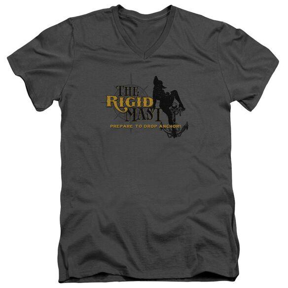 The Rigid Mast Short Sleeve Adult V Neck T-Shirt