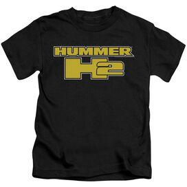 Hummer H2 Block Logo Short Sleeve Juvenile T-Shirt