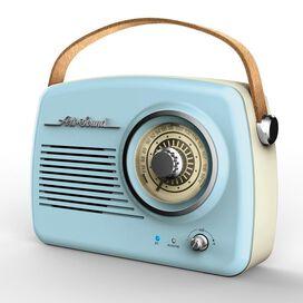 Art + Sound Wireless Vintage Radio [Blue]
