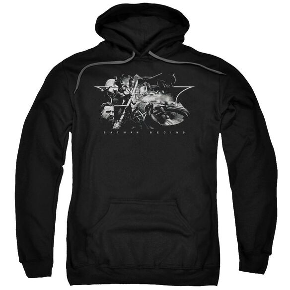 Batman Begins Night Natives Adult Pull Over Hoodie