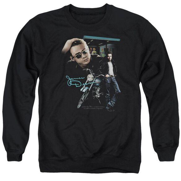 Dean Pit Stop Adult Crewneck Sweatshirt
