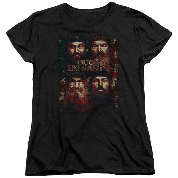 Duck Dynasty American Dynasty Short Sleeve Womens Tee T-Shirt