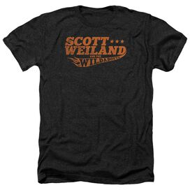 Scott Weiland Logo Adult Heather