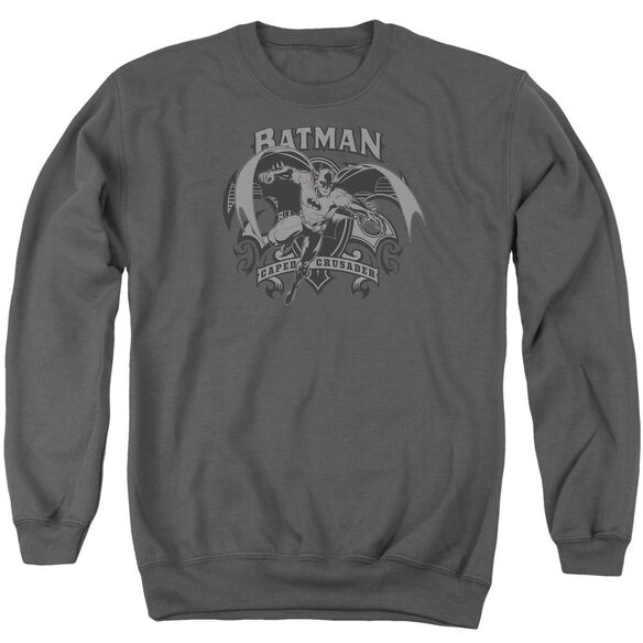 Batman Crusade Adult Crewneck Sweatshirt