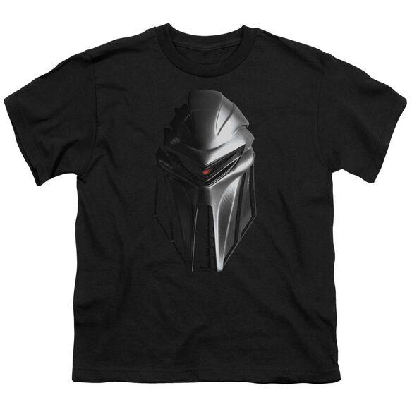 BSG CYLON HEAD - S/S YOUTH 18/1 - BLACK T-Shirt
