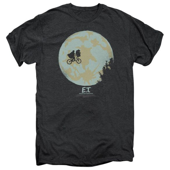 Et In The Moon Adult Premium Tee Smoke