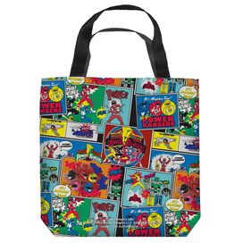 Power Rangers Pattern Tote