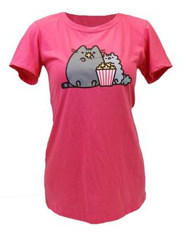 Pusheen Popcorn Women's T-Shirt
