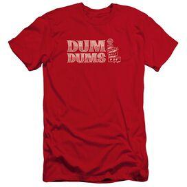Dum Dums Worlds Best-premuim Canvas Adult Slim
