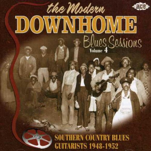 Modern Downhome Blues Sessions 4 / Various (Uk)