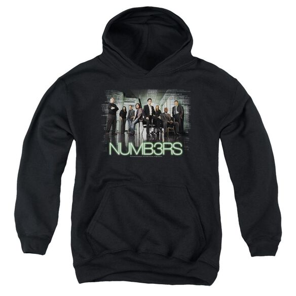 Numb3 Rs Numbers Cast Youth Pull Over Hoodie