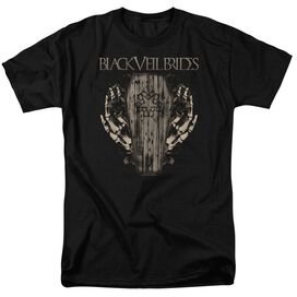 Veil Brides Casket Roses Short Sleeve Adult T-Shirt