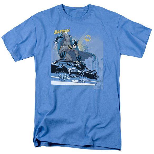 Batman Two Gotham Gargoyles Short Sleeve Adult Carolina T-Shirt