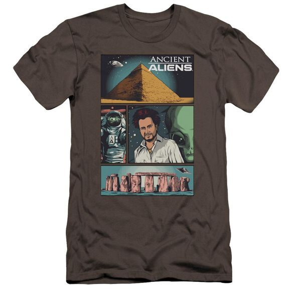 Ancient Aliens Aliens Comic Page Hbo Short Sleeve Adult T-Shirt