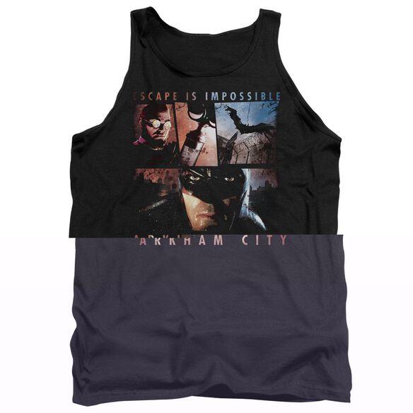 Arkham City Escape Is Impossible - Adult Tank - Black