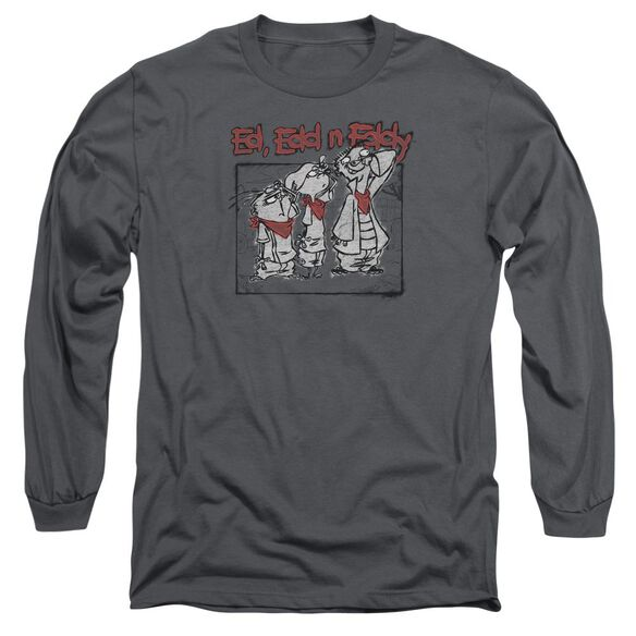 Ed Edd N Eddy Stand By Me Long Sleeve Adult T-Shirt