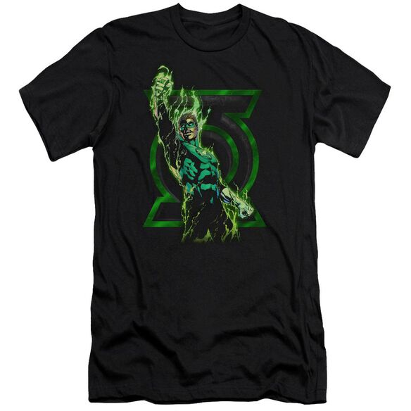 Green Lantern Fully Charged Premuim Canvas Adult Slim Fit