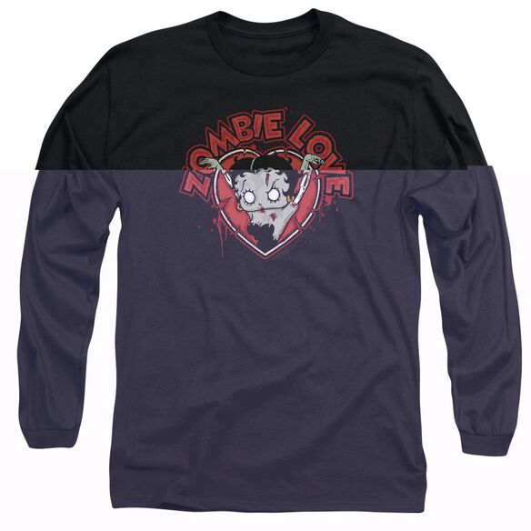 Betty Boop Heart You Forever Long Sleeve Adult T-Shirt