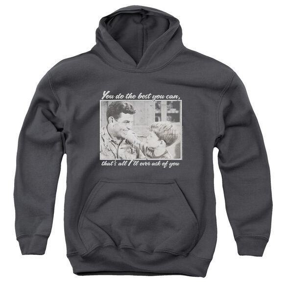 Andy Griffith Wise Words Youth Pull Over Hoodie